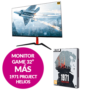 Monitor GAME M32E2K 32'' + 1971 Project Helios Collector´s Edition