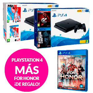 PlayStation 4 + For Honor