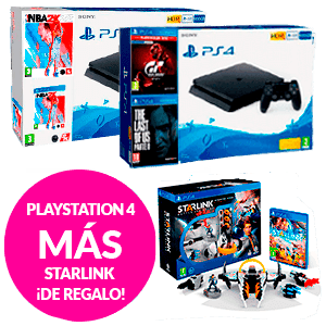PlayStation 4 + The Division o Starlink Starter Pack