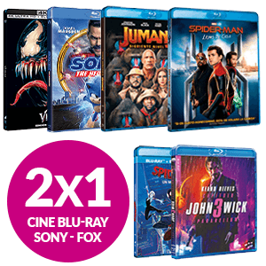 2X1 En cine Blu-Ray Sony-FOX