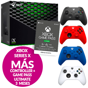 Xbox Series X + Controller + GamePass
