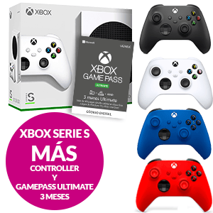 Xbox One Series S+ Controller + Gamepass