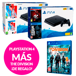 Consola PS4 + The Division