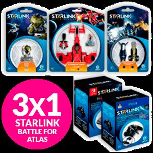 3*1 Starlink Figuras Co-Op 2021
