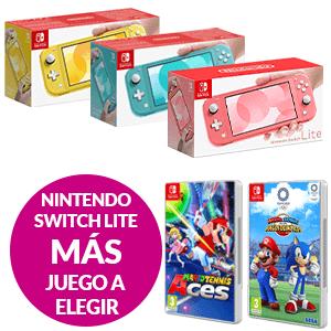 Nintendo Switch Lite + Juego a Elegir