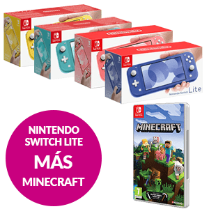 Nintendo Switch Lite + Minecraft Nintendo Switch Edition