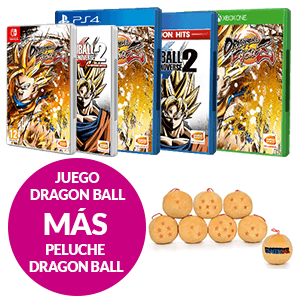 Juego  Dragon Ball + Peluche Dragon Ball de regalo