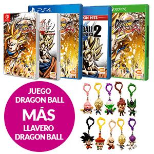 Juego Dragon Ball + Llavero Dragon Ball