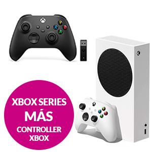Xbox Series S + Controller Inalámbrico + Adaptador Windows 10