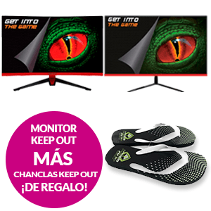 Pack Keep Out Monitor + Chanclas