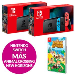 Nintendo Switch + Animal Crossing. New Horizons