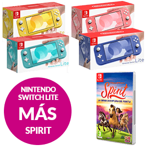 Nintendo Switch Lite + Spirit