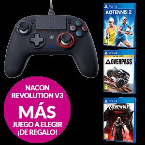 Controller Nacon Rev V3 + Juego PS4 a elegir