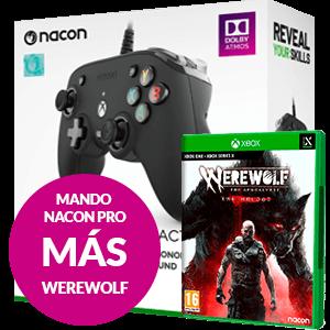 Mando Nacon Pro Negro + Werewolf Xbox Series