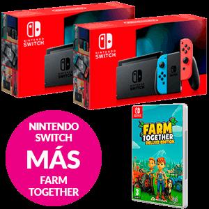 Nintendo Switch + Farm Together