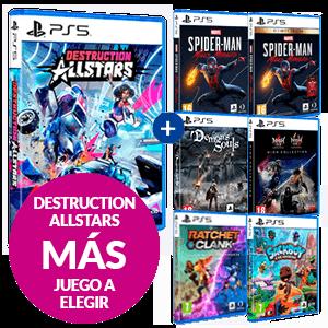 Juego Destruction AllStars + Juego a Elegir de PS5