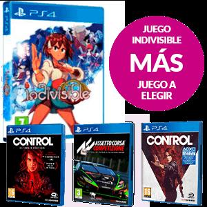Juego Indivisible + Juego a Elegir de PS4