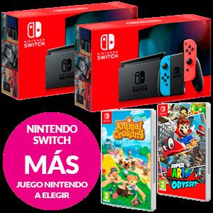 Nintendo Switch + Juego Nintendo a elegir