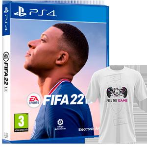 FIFA 22 PS4 + Camiseta
