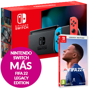 Nintendo Switch + Fifa 22 Legacy Edition