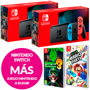Nintendo Switch + Juego a elegir en Halloween 21