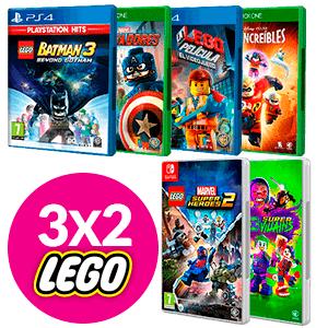 3x2 en juegos de LEGO por Halloween