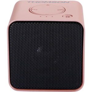ALTAVOZ BLUETOOTH ROSA METALIZADO