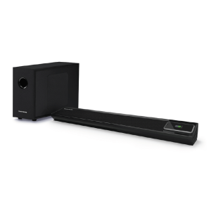 BARRA DE SONIDO CON BLUETOOTH SUBWOOFER WIRELESS Y CARGA DE INDUCCION
