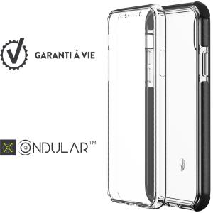 "Bigben Connected FCURBAN360IP61 funda para teléfono móvil 15,5 cm (6.1"") Gris, Transparente"