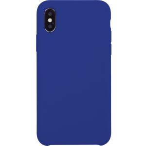 Carcasa rígida acabado suave en azul eléctrico para iPhone X/XS