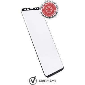 Protector de pantalla de vidrio templado Force Glass original para Samsung Galaxy S9+  y kit de inst
