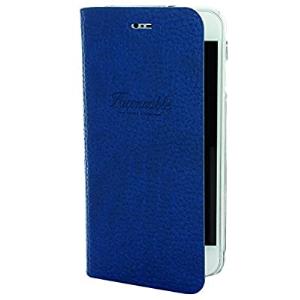 Funda con tapa Faconnable azul oscuro French Riviera para IPhone 6/6s/7/8/SE2020