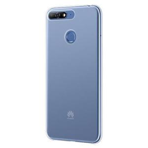 CARCASA SEMI RIGIDA TRANSPARENTE HUAWEI Y6 2018 CON NFC