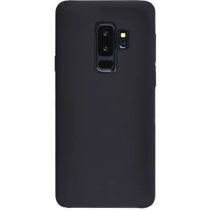 Carcasa rígida acabado suave negra Galaxy S9