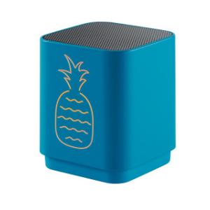 Altavoz Bluetooth con luz y diseño de Piña
