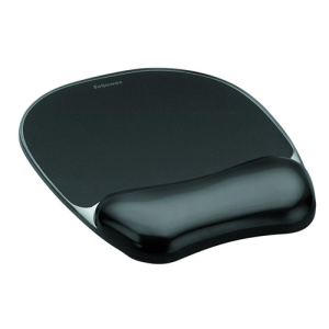 Fellowes 9112101 alfombrilla para ratón Negro