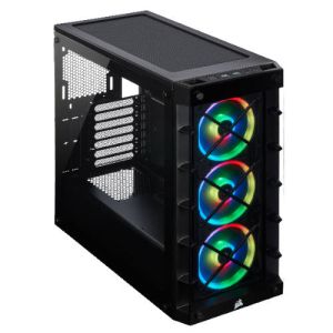 Corsair iCUE 465X RGB Midi Tower Negro
