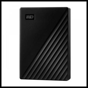 Western Digital My Passport disco duro externo 4000 GB Negro