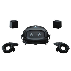 HTC 99HART002-00 dispositivo de visualización montado en un casco Pantalla con montura para sujetar en la cabeza Negro