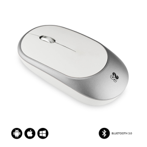 SUBBLIM RATON OPTICO WIRELESS BLUETOOTH SMART SILVER
