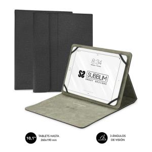 "SUBBLIM Funda Tablet Clever Stand Tablet Case 10,1"" Black"