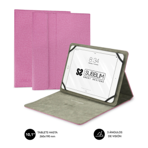 """Subblim Clever Stand Tablet Case 10,1"""" Rosa - Funda"""