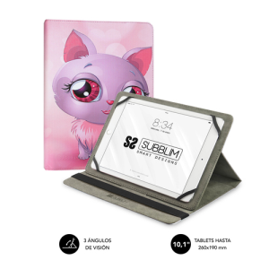 SUBBLIM Funda Tablet Universal TRENDY CASE CAT 10.1""