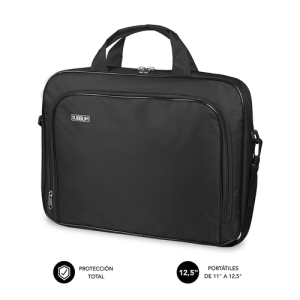 "SUBBLIM Maletín Ordenador Oxford Laptop Bag 11-12,5"" Black"