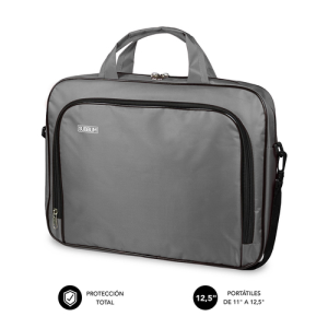 "SUBBLIM Maletín Ordenador Oxford Laptop Bag 11-12,5"" Grey"