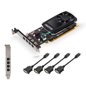 PNY VCQP1000DVIV2-PB tarjeta gráfica NVIDIA Quadro P1000 V2 4 GB GDDR5