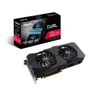 ASUS Dual -RX5600XT-T6G-EVO AMD Radeon RX 5600 XT 6 GB GDDR6