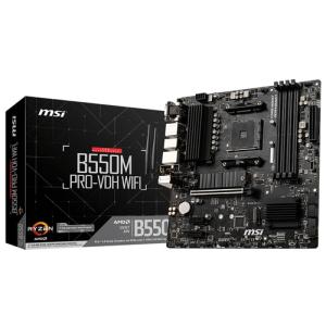 MSI B550M PRO-VDH WIFI Zócalo AM4 Micro ATX AMD B550