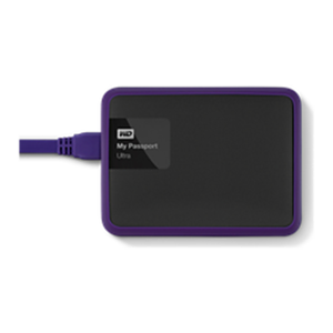 Western Digital WD Grip Pack 1TB Slate Caja de disco duro (HDD) Negro, Púrpura