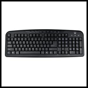 Ewent EW3125 teclado USB Negro